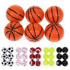 Pack of 6Pcs Premium Sport Balls Pattern Novelty Golf Balls Golf Accessories