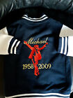 Michael Jackson kids embroidered varsity jacket