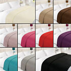 Tony's Textiles - Plain Fleece Throw Blanket for Bed and Sofa - Solid - 8 Colors