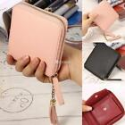 Women Synthetic Leather Solid Mini Coin Purse Wallet Holder Case Fashion DZ88