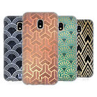 HEAD CASE TEXTURED ART DECO PATTERNS SOFT GEL CASE FOR SAMSUNG GALAXY J3 (2017)