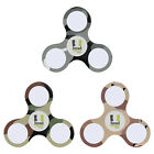 HEAD CASE DESIGNS MILITARY CAMO WHITE LED FIDGET TOY SPINNER