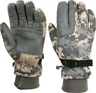 ACU Digital Camouflage Cold Weather Waterproof Long Winter Insulated Gloves