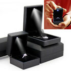 Led Lighted Earring Ring Gift Box Wedding Engagement Ring For Jewelry Display Uk