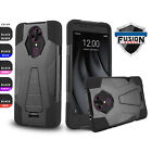 FOR [T-MOBILE REVVL PLUS] PHONE CASE [FUSION SERIES] SHOCKPROOF KICKSTAND COVER