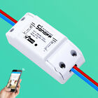 10* Sonoff Smart Timer WiFi Wireless Switch Module for iOS Android APP Remote QB