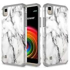 LG X Power / LG K6P Case, Dual Layer Shockproof Bumper Case + Screen Protector