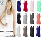 Bella Ladies Flowy Racerback Tank Top Womens XS S M L XL 2XL