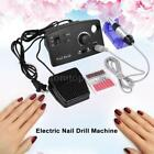 Nail File Art Electric Drill Acrylic Manicure Pedicure Polisher Machine Set M0J0