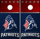New England Patriots Cornhole Wrap NFL Skin Game Board Set Vinyl Decal CO23 on eBay