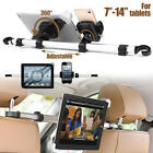 """360º Rotating Car Headrest Back Seat Holder Mount Stand For Phones iPad 7""""-14"""""""