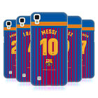 OFFICIAL FC BARCELONA 2017/18 PLAYERS HOME KIT GROUP 1 BACK CASE FOR LG PHONES 2