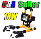 10W Portable Cordless Work Light Rechargeable LED Flood Camping Hiking Lamp IP65