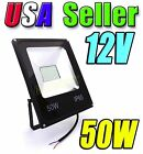 12V - 24V Low Voltage 50W Warm Soft White LED Wash Flood Light Garden Outdoor