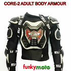 ADULT BODY ARMOUR MOTOCROSS JACKET CHEST SPINE KNEE PROTECTION ARMOUR GO KART