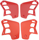 Ufo Red Fuel Tank Shrouds / Radiator Covers Honda CR125 89-90, CR250 88-89