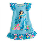 Kids Girls Cartoon Princress Nightdress Nightie Sleepwear Pajama Dress Nightwear