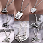 Unique Sister Mother Daughter Dad Grandma Family Pendant Necklace Jewelry  JR