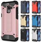 For Samsung Galaxy A8 / A8 Plus (2018) Case Rugged Armor Shockproof Phone Cover