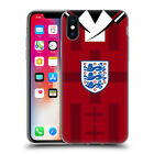 ENGLAND WORLD CUP 2018 RETRO CREST SOFT GEL CASE FOR APPLE iPHONE PHONES