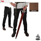 Trousers Drawstring/Button Front -Tapered Ankle - Larp, Fancy Dress and Cosplay