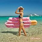 Giant Inflatable Ice Cream Swimming Pool Float Raft Beach Lounge Bed Toy Chair