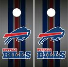 Buffalo Bills Team Flag Cornhole Wrap NFL Skin Game Board Set Vinyl Decal CO37 $59.95 USD on eBay