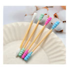 100x Cotton Swabs Swab Applicator Q-tips Double Tip Wooden Sticks Ear Cleaning #