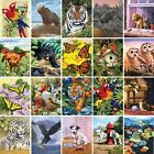 Painting by Numbers Kit - A4 - Includes Paints / Brush / Board  - 24 Designs