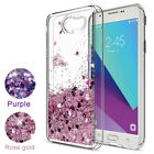 For Samsung Galaxy J3 2017 Case Moving Liquid Glitter Quicksand TPU Phone Cover