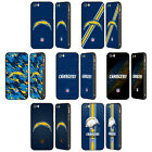 OFFICIAL NFL LOS ANGELES CHARGERS LOGO BLACK SLIDER CASE FOR APPLE iPHONE PHONES