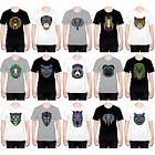 HEAD CASE DESIGNS AZTEC ANIMAL FACES T-SHIRT FOR MEN