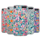 OFFICIAL MICKLYN LE FEUVRE FLORALS 3 SOFT GEL CASE FOR APPLE iPOD TOUCH MP3