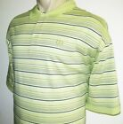 NEW IZOD MENS POLO SHIRT Yellow Lime 4X 4XL