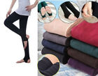 2PC Skinny Women Thicken Warm Leggings Stockings Footless Stretch Pants US Stock