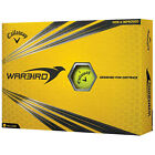 2019 Callaway Warbird Golf Balls - Select Quantity Colour Packs Distance