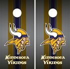 Minnesota Vikings Cornhole Wrap NFL Game Team Flag Skin Set Vinyl Decal CO85 on eBay