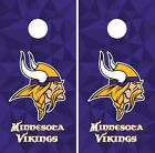 Minnesota Vikings Cornhole Wrap NFL Game Skin Board Set Vinyl Decal Sticker CO86 on eBay