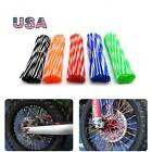72PCS Motorcycle Spoke Skins Covers Wraps Wheel Pipe Guard Bike For Benelli US