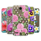 HEAD CASE DESIGNS WATERCOLOUR FLOWERS 2 SOFT GEL CASE FOR LG PHONES 1