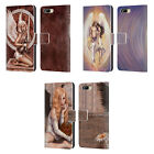SELINA FENECH ANGELS LEATHER BOOK WALLET CASE FOR BLACKBERRY ASUS ONEPLUS PHONES