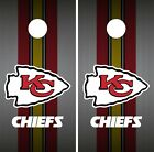 Kansas City Chiefs Cornhole Wrap NFL Team Flag Game Skin Board Set Vinyl CO132 on eBay