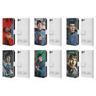 OFFICIAL STAR TREK SPOCK LEATHER BOOK WALLET CASE COVER FOR APPLE iPOD TOUCH MP3 on eBay