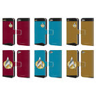 STAR TREK UNIFORMS AND BADGES TNG LEATHER BOOK CASE FOR APPLE iPOD TOUCH MP3 on eBay
