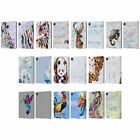 OFFICIAL ARTPOPTART ANIMALS LEATHER BOOK WALLET CASE COVER FOR APPLE iPAD