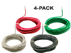 Southwire Black White Green and Red Solid Copper Wire 18 Awg Choose Length