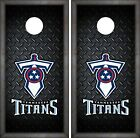 Tennessee Titans Cornhole Wrap NFL Luxury Skin Game Board Set Vinyl Art CO146 on eBay