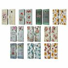 HEAD CASE DESIGNS COUNTRY CHARM LEATHER BOOK WALLET CASE FOR MOTOROLA PHONES