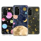 HEAD CASE DESIGNS MARBLE GALAXY SOFT GEL CASE FOR HUAWEI PHONES