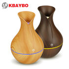 130ML USB 7 LED lights Oil diffuser ultrasonic air humidifier wood mist maker